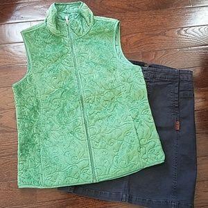 Carole Little Faux Fur Vest